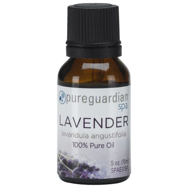 Pureguardian Spa 100-percent Pure .5-ounce Lavender Oil