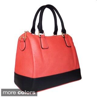 Lithyc Nuala Color-block Vegan Leather Handbag