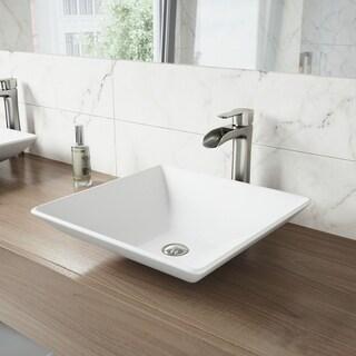 VIGO Matira Composite Vessel Sink