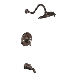 Moen Weymouth Oil Rubbed Bronze PosiTemp Tub and Shower Fixtures