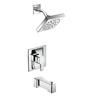 Moen 90-degree Chrome Moentrol Tub and Shower Fixtures