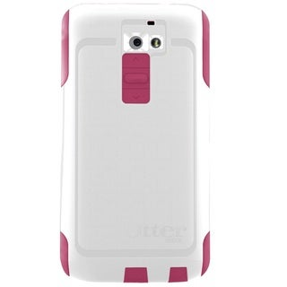 OtterBox Commuter Series White/Pink Case for LG G2
