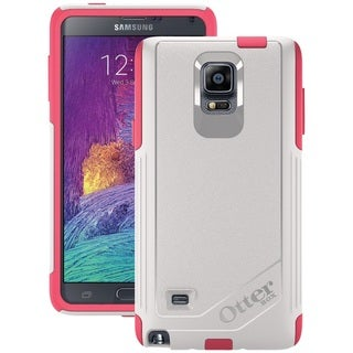 OtterBox Samsung Galaxy Note 4 Case Commuter Series  Pink/White