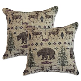 Ottawa Sand 22-inch Decorative Throw Pillows (Set of 2)