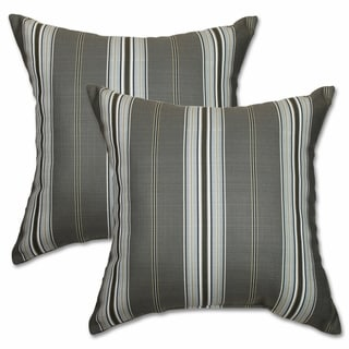 Mason Steel Guitar 22-inch Decorative Throw Pillows (Set of 2)