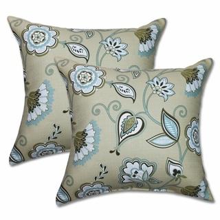 Avennious Misti Blue 22-inch Decorative Throw Pillows (Set of 2)