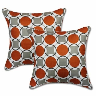 Aura Granite 22-inch Decorative Throw Pillows (Set of 2)