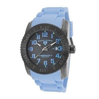 Swiss Legend Men's SL-10068-GM-014BBLSA Commander Grey Watch