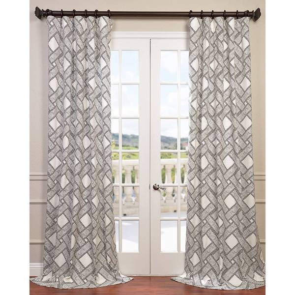 Pavers Cotton Twill Curtain Panel