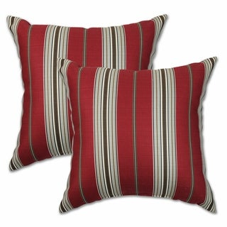 Mason Red Radiance 22-inch Decorative Throw Pillows (Set of 2)