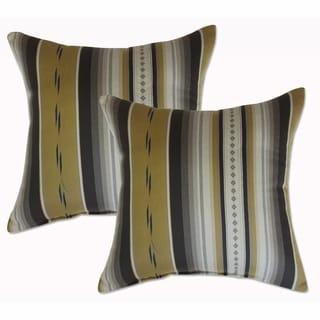 Legend Shale 22-inch Decorative Throw Pillows (Set of 2)
