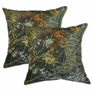 Mossy Oak 22-inch Decorative Throw Pillows (Set of 2)