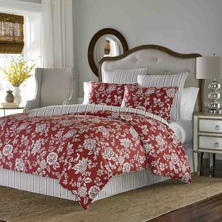 Stone Cottage Ceylon 100-percent Cotton Sateen Duvet Cover Set with Euro Sham Separates