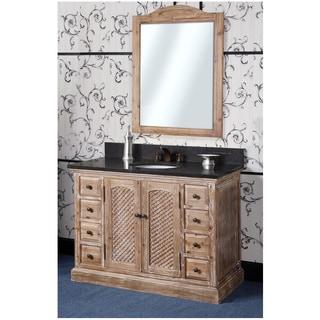 Distressed Bathroom Vanities Overstock Shopping Single Double Sink Vanities