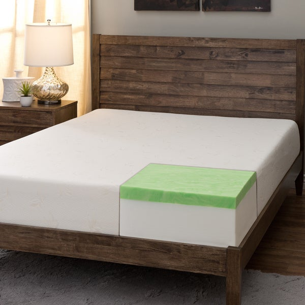 Comfort Dreams Select-A-Firmness 9-inch Twin XL-size Gel Memory Foam Mattress