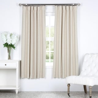 Bellino 63-Inch Rod Pocket Blackout Curtain Panel