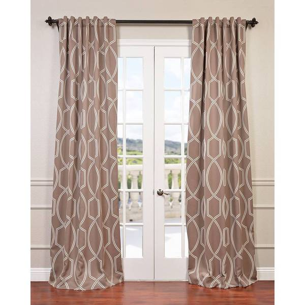 EFF Lisbon Bronze Blackout Curtain (As Is Item)