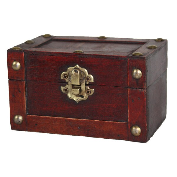 Small Mini Treasure Decorative Chest