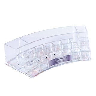 Laura Ashley 19-Section Cosmetic and Jewelry Holder