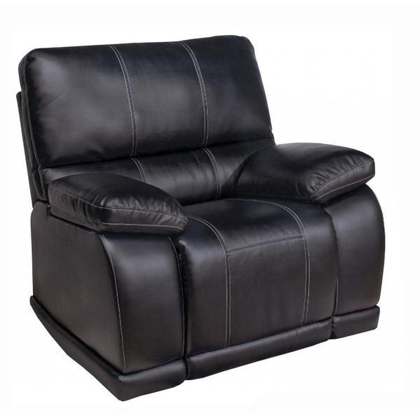Lexington Collection Electra Mesa Black Bonded Leather Standard Recliner