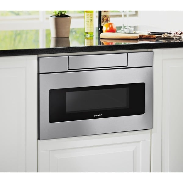 Sharp SMD2470AS 24-inch Stainless Steel Microwave Drawer - 16991173 ...