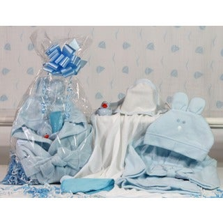 Fun and Snuggles Baby Boy Gift Set