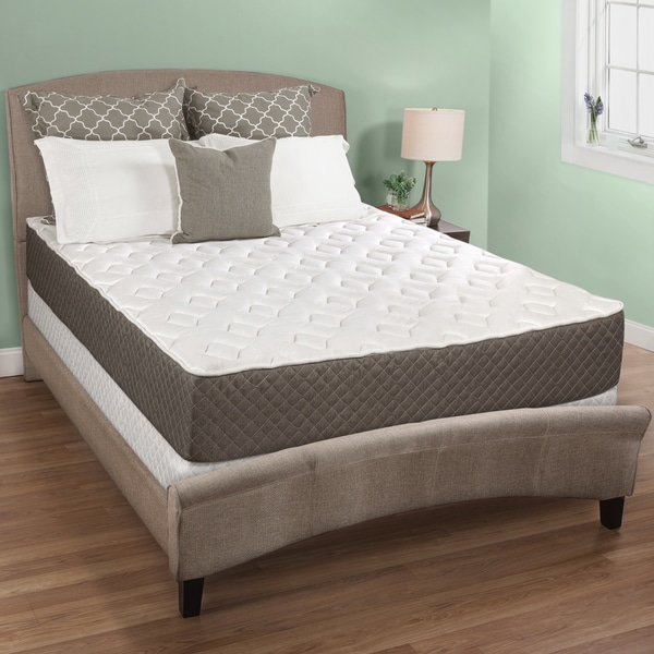 Select Luxury 10-inch Queen-size Quilted Memory Foam Mattress with EZ Fit Foundation