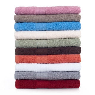 Lavish Home 100-percent Cotton 800 GSM 12-piece Towel Set