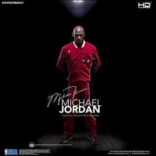 Enterbay X Real Masterpiece HD-1015 NBA Collection Michael Jordan 1:4 Figure