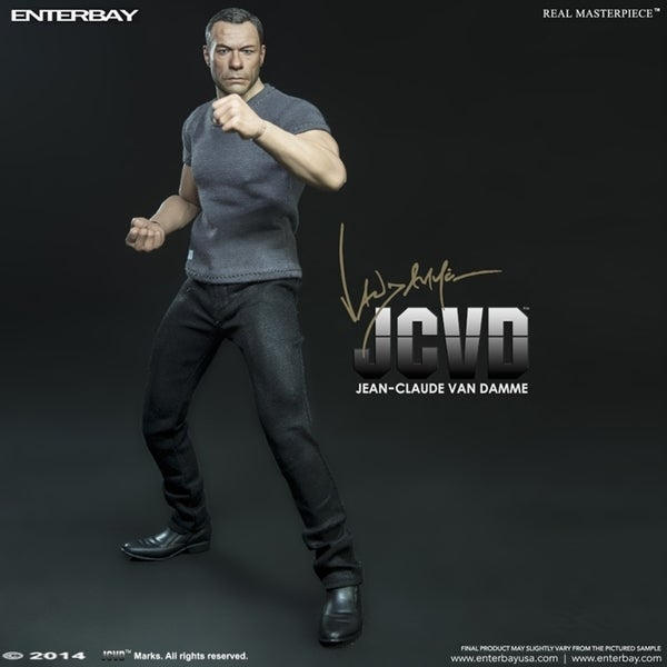 Enterbay X Real Masterpiece RM-1043 Jean-Claude Van Damme 1:6 Figure 14812636