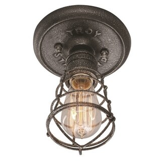 Troy Lighting Conduit 1-light Ceiling Flush
