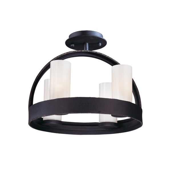 Troy Lighting Eclipse 4-light Ceiling Semi-flush