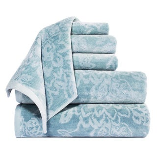 Bette Yarn Dyed 100-percent Cotton Jacquard 6-piece Towel Set