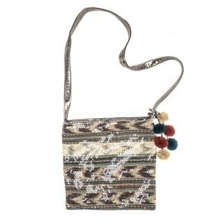 Muk Luks Women's Brown Crossbody Square Bag