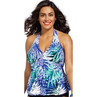 Shore Club Plus-size Maile Tankini Top
