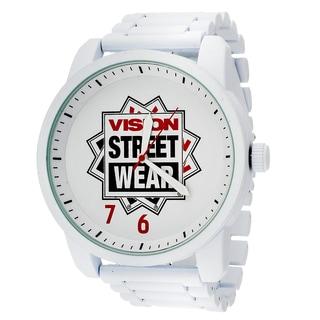 Xtreme Vision Street Wear White Metal Round Watch
