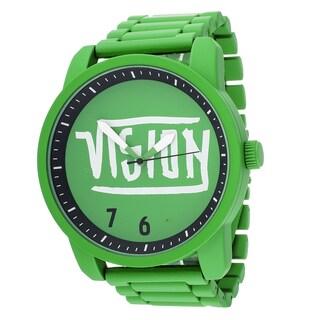 Xtreme Vision Street Wear Green Metal Round Watch