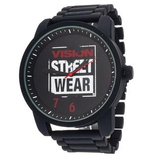 Xtreme Vision Street Wear Black Metal Round Watch