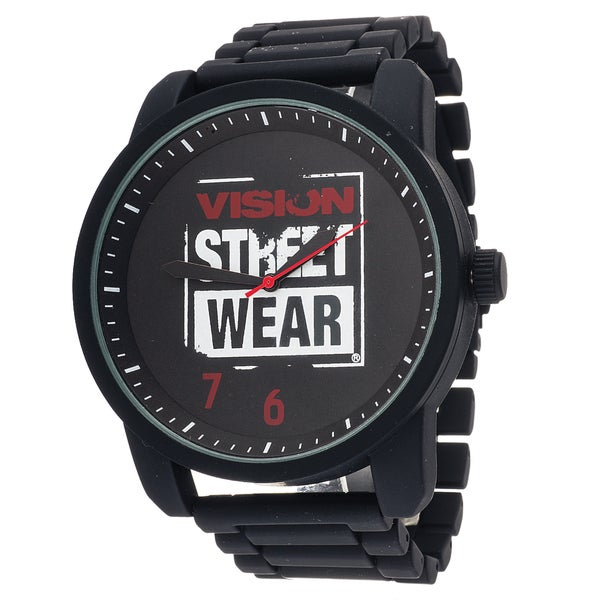 Xtreme Vision Street Wear Black Metal Round Watch