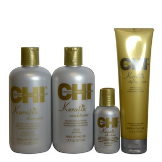 CHI Keratin Smooth Enhancement 4-piece Set