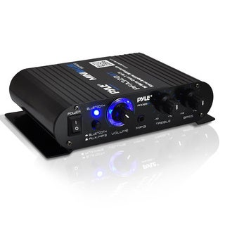 Pyle PFA320BT Mini Blue Series Bluetooth Amplifier