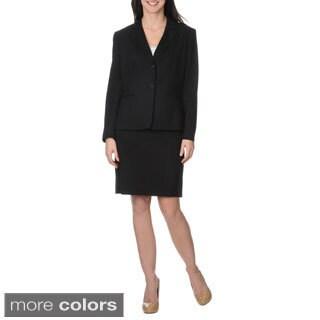 Nicci Women's Ponte 2-piece Skirt Suit
