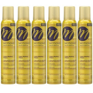 Motions 8-ounce Light Styling Foam (Pack of 6)