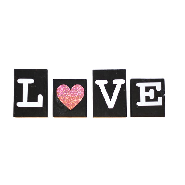 Love Blocks Decorative Accessory