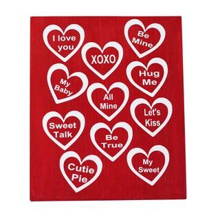 Conversation Heart Board Decorative Accessory