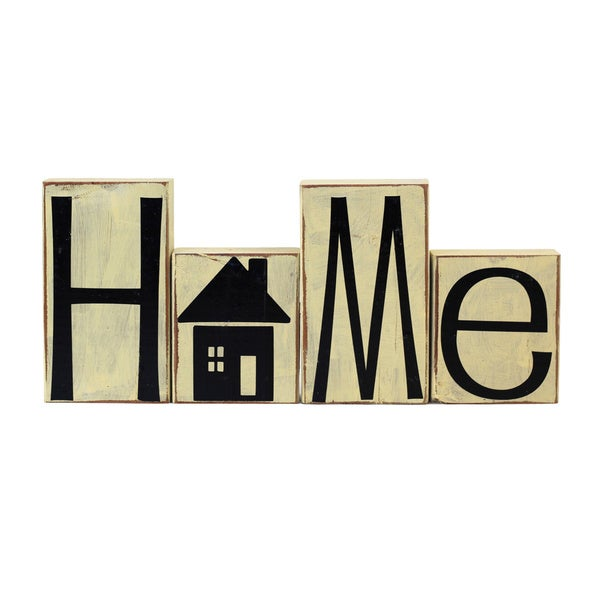 Wooden Decorative Home Blocks