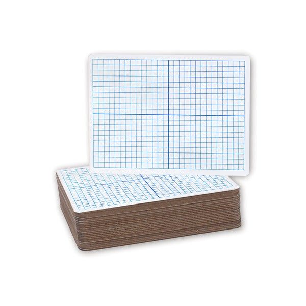 Flipside XY Axis Dry Erase/ Plain Dry Erase Board (Pack of 24)