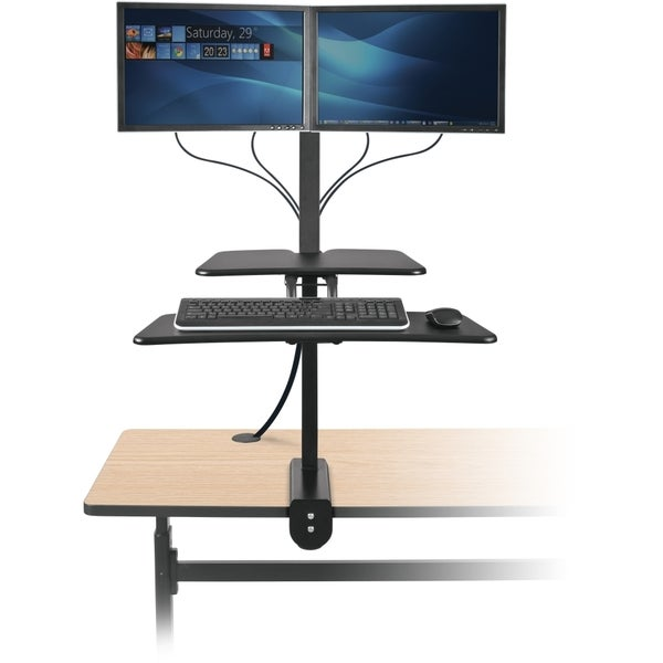 Balt Inc. Up-Rite Desk Mounted Sit and Stand Workstation