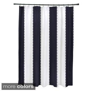 Nautical Stripes Shower Curtain