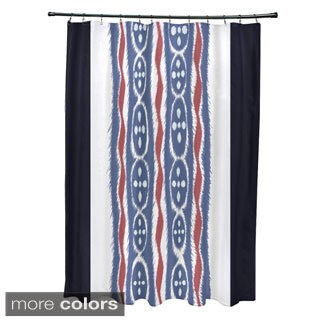 Tribal Stripes Pattern Shower Curtain